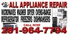 All  Appliance  Repair  (  All  Major  Brand  Repair  7  Days   A   Week  Same  Days  Service )